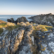 Irish rocky coastline — Stock fotografie