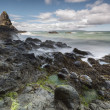 North Irish rocky coastal landscape — Stok fotoğraf
