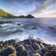 Stock Photo: The Giants Causeway, North Ireland