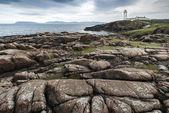 Faro de fanad head, costa norte de donegal, irlanda — Foto de Stock
