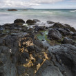 North Irish rocky coastal landscape — Stock Photo