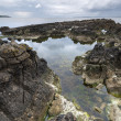 Stock Photo: Pan's Rock Antrim Coast landscape in North Ireland