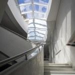 Modern, contemporary staircase — Stock Photo