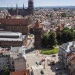 Panorama of Gdansk city in Tricy — Stock Photo #29240599