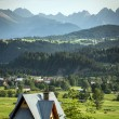 Tatra mountains in Poland — Stock Photo