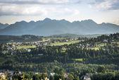 Tatra Mountain National Monument in Poland — Stock Photo