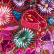 Traditional handmade guatemalan fabric  — Stock Photo