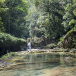 Semuc Champey small waterfals in Guatemala — Stock Photo #30873645