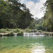 Semuc Champey waterfals, Guatemala — Stock Photo #30875241