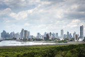 Panorama of Panama city — Stock Photo