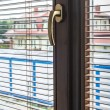 Stock Photo: Modern window handle