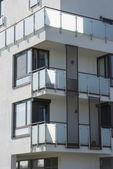 Multi einfamilienhaus außen — Stockfoto