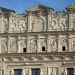 Stock Photo: Decorative facade at market square in Kazimierz Dolny