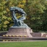 Постер, плакат: Polish pianist Frederic Chopin monument in Lazienki Park Warszawa