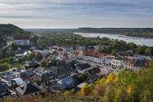 Panorama of the historic town Kazimierz Dolny in Poland — Stock Photo
