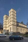 Historical Greek wooden church in Lidzbark Warminski — Stock Photo