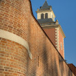 Stock Photo: Tower of Krasicki Bishop castle in Lidzbark Warminski