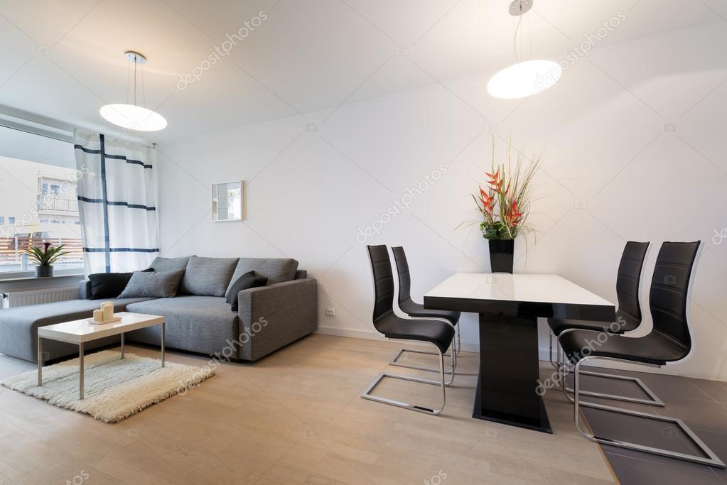 현대 인테리어 디자인: 거실 — 스톡 사진 © jacek_kadaj #43904659