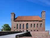 Entry way to old castle in Lidzbark Warminski — Photo