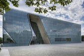 Museum of the History of Polish Jews in Warsaw, Poland — 图库照片