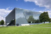 Museum of the History of Polish Jews in Warsaw, Poland — Stock Photo