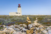 Sagres fortress Lighthouse in Portugal — Stock Photo