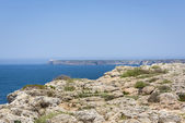 Cliffs in Sagres, Algarve, Portugal — Stock Photo