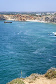 Small bay on South of Portugal in Sagres — Stock Photo