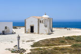 Small Church of Our Lady of Grace at Sagres Fortress in the Algarve — Stock Photo