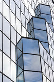 Facade - shapes from a modern building — Stock Photo
