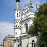 Church of the Holy Saviour (Kosciol Zbawiciela) in Warsaw — Stock Photo #49810571