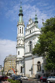 Church of the Holy Saviour (Kosciol Zbawiciela) in Warsaw — Stock Photo