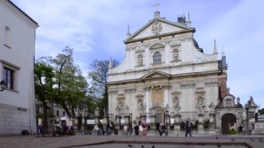 Church of St. Peter and Paul in Krakow, Poland — Stock Video