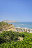 Miraflores District landscapes in Lima, Peru — Stock Photo