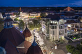 Night view of Sopot in Poland — Stock Photo