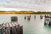 Ferry dock — Stock Photo