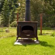 Wood burning stove — Stock Photo #37263065