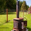 Wood burning stove — Stock Photo #37263071