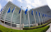 European Commission in Brussels — Stock Photo