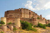 Mehrangarh fortress in Jodhpur — Stock Photo