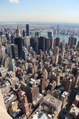 Skyline of Manhattan — Stock Photo