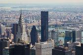Skyline of Manhattan — Stock Photo