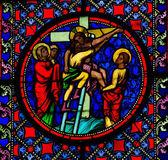 Jesus taken from the cross — Stock Photo