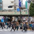 Shibuya Crossing - Stock Photo