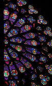 Rose Window in Notre Dame de Paris — Stock Photo