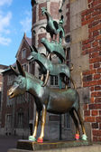 Town Musicians of Bremen — Stock Photo