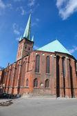 Petrikirche in Lubeck — Stock Photo