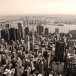 Skyline of Manhattan — Lizenzfreies Foto