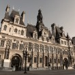 Hotel de Ville, Paris — Stock Photo