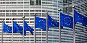 European flags — Stock Photo